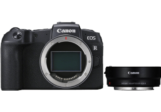 CANON EOS RP BODY + MOUNT ADAPTER EF-EOS R KIT (3380C023)