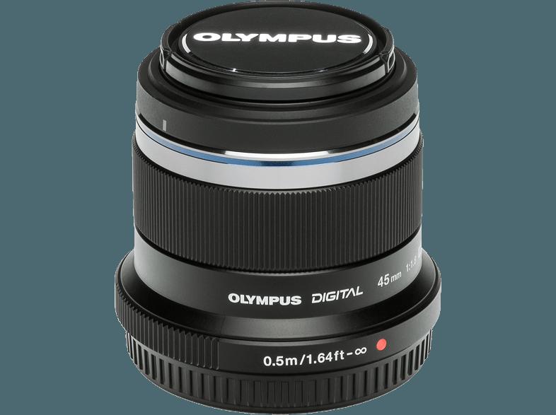 OLYMPUS M.Zuiko 45/F1.8 fekete