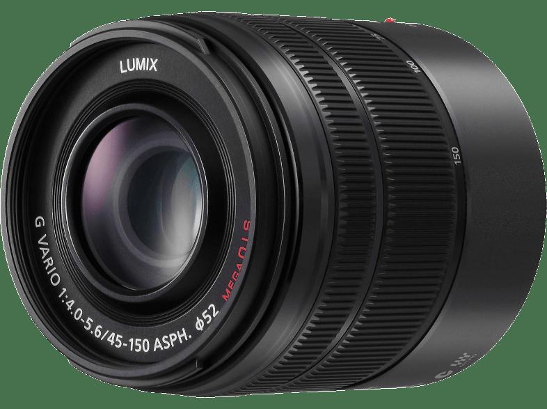 PANASONIC Lumix G Vario 45-150mm f/4.0-5.6 MEGA O.I.S. objektív (H-FS45150EKA)