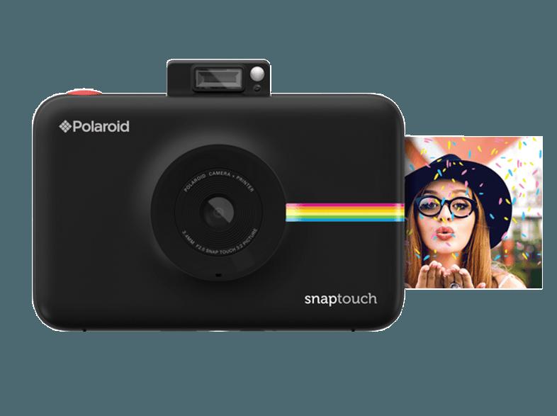 POLAROID Polaroid Snaptouch fényképezőgép és fotónyomtató fekete