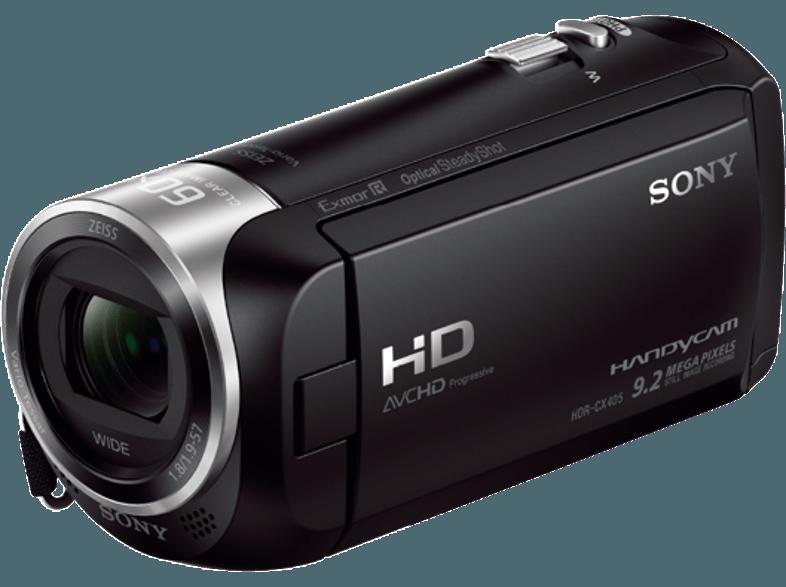 SONY HDR-CX405 fekete videokamera