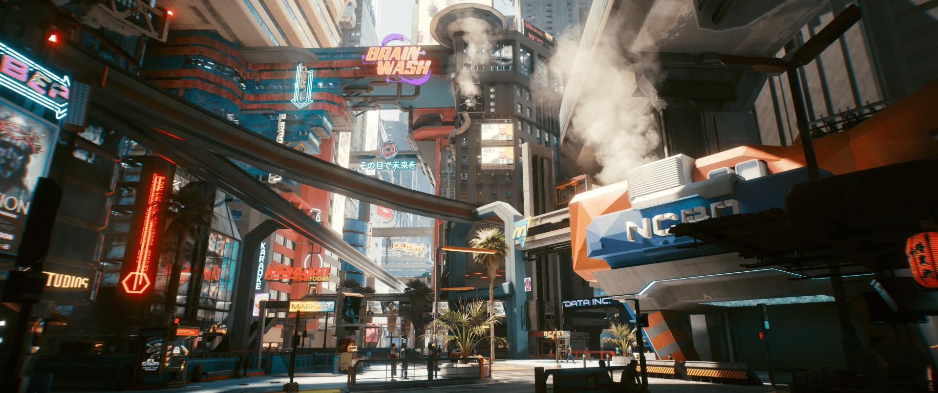 70 fokos látószög a Cyberpunk 2077-ben