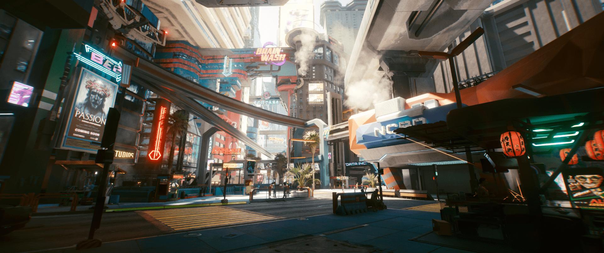 90 fokos látószög a Cyberpunk 2077-ben