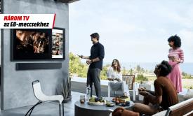 Három tévé az EB-meccsekhez