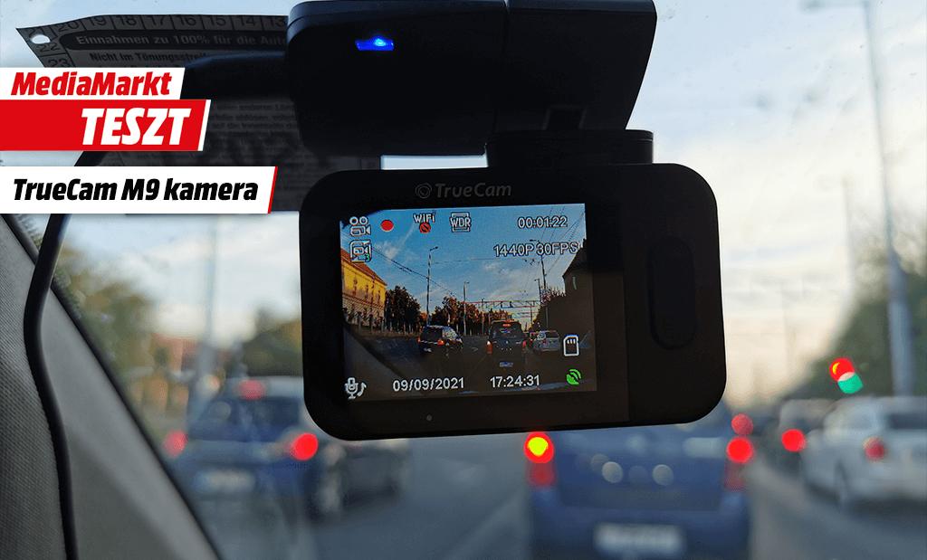 TrueCam M9 menetrögzítő kamera teszt